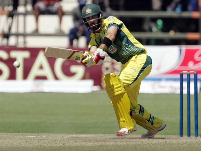 Australia Back Glenn Maxwell to Perform at World Cup