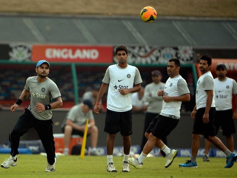 Indian team practice