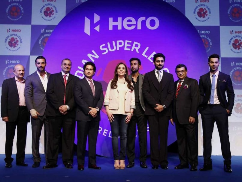 Sachin Tendulkar Launches Indian Super League in Glitzy Ceremony