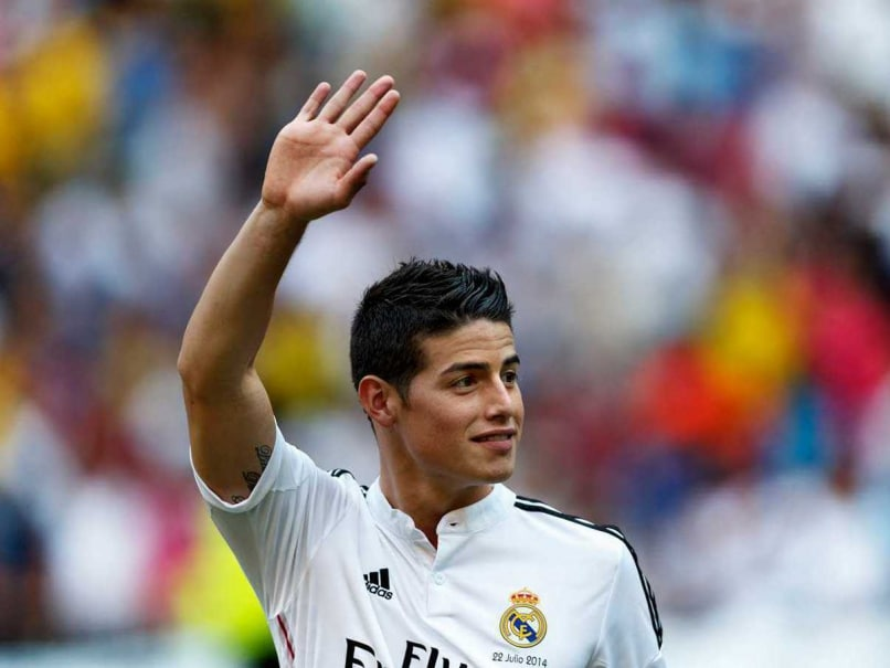 James Rodriguez Set for Real Madrid Bow in Super Cup