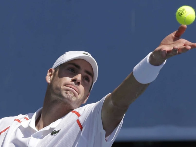 John Isner, Sam Querrey Advance to Winston-Salem Quarters