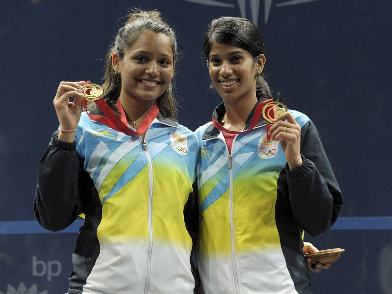 CWG 2014 Gold Medallists Dipika Pallikal, Joshna Chinappa get Warm Welcome in India