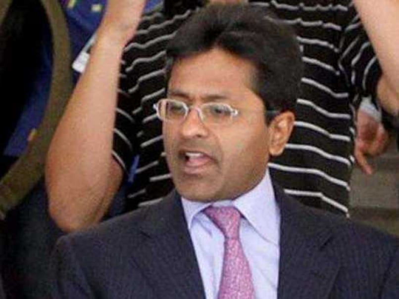 Lalit Modi Signed the Kochi IPL Bid