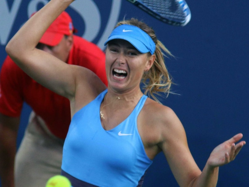 Maria Sharapova Outlasts Simona Halep to Enter Cincinnati Semis