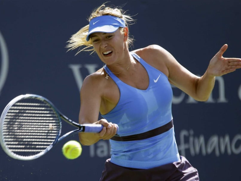 Maria Sharapova Second to Qualify for WTA Finals