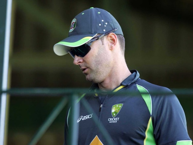 Michael Clarke May Be Fit for First Test Against India