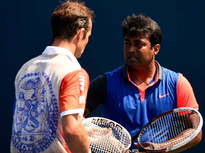 US Open: Leander Paes-Radek Stepanek Enter Pre-Quarters