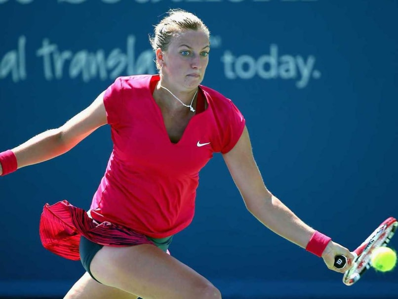 Petra Kvitova Reaches Connecticut Open Semifinals