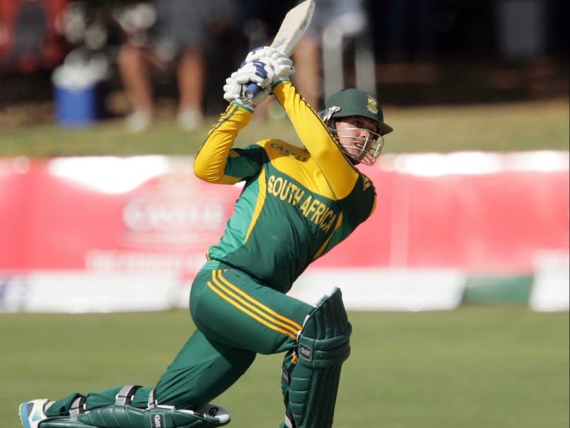Quinton De Kock Century Powers South Africa A to a Dominant Position