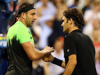 Roger Federer Hits Season 50 as Teen Duo Rock US Open
