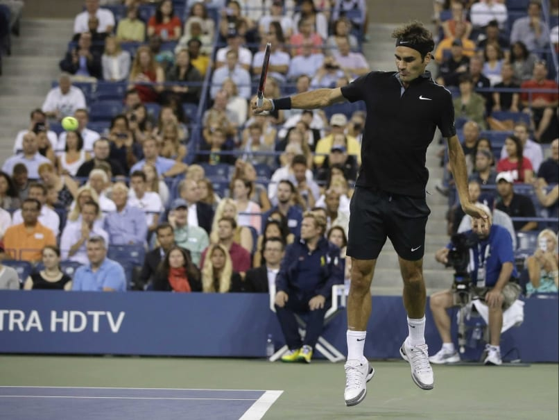Roger Federer Advances to US Open Second Round