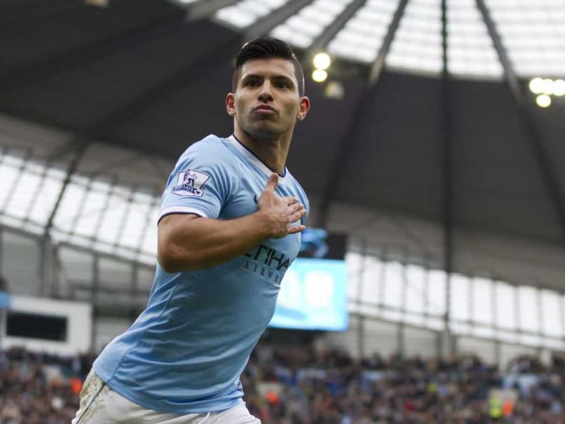 Manchester City Star Sergio Aguero Signs New Five-Year Deal