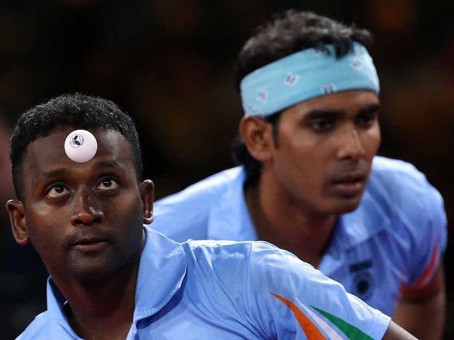 CWG 2014: Sharath Kamal-Anthony Amalraj Eye Table Tennis Gold