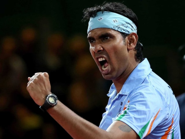 Achanta Sharath Kamal, Soumyajit Ghosh Shine, Women Bow Out of Asian Table Tennis Championships