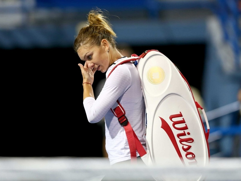 Top Seed Simona Halep Knocked Out of Connecticut Open