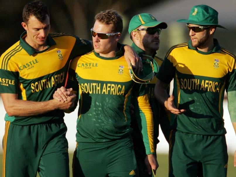 South Africa Crush Zimbabwe to Take Series