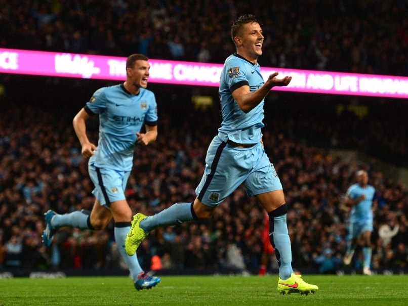 Manchester City F.C. Boss Manuel Pellegrini Gladdened by Stevan Jovetic Display