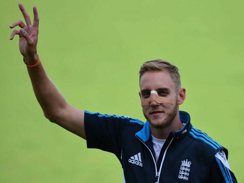 India in England: Stuart Broad Trains in Splints Ahead of Final Test