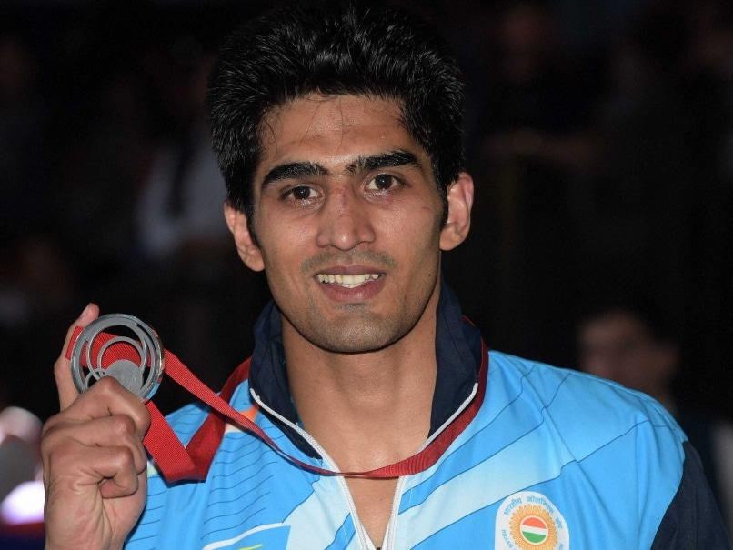 Commonwealth Games Medal a Birthday Present for Son, Says Doting Dad Vijender Singh