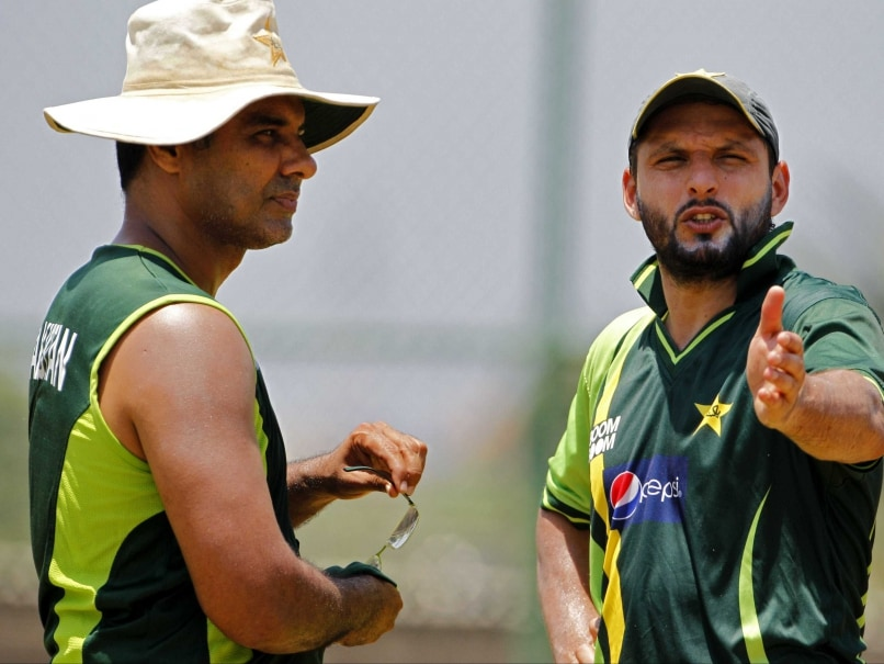 Shahid Afridi Appointed Pakistan's T20I Captain Till 2016 World Cup