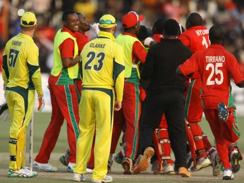 ODI Triseries: Zimbabwe Record Famous Win Over Australia