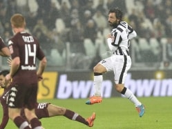 Andrea Pirlo Gives Juventus 2-1 Win vs Torino, Inter Milan Lose to AS Roma