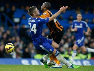 Gary Cahill's 'Dive' Angers Hull City Manager