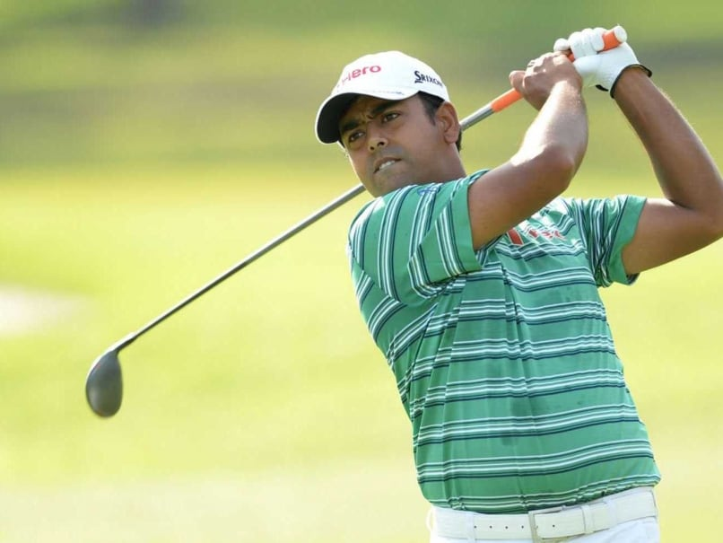 Anirban Lahiri Shoots 69 Despite Misses And Bad Breaks