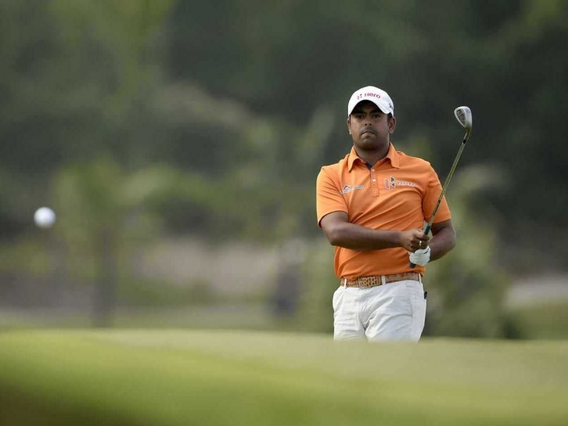 Anirban Lahiri Bounces Back With a Solid Second Round at World Tour Championships