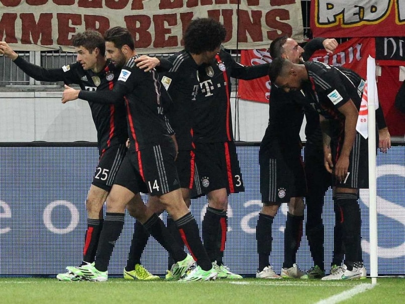 Arjen Robben Scores Late for Bayern Munich to Beat Mainz 2-1