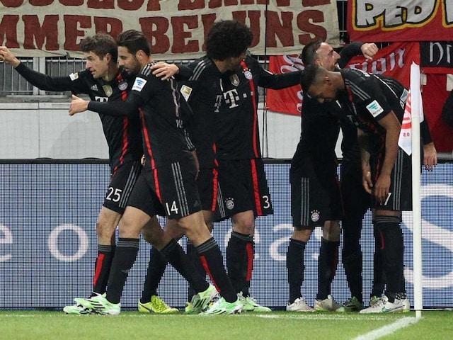 Arjen Robben Scores Late for Bayern Munich to Beat Mainz 2-1