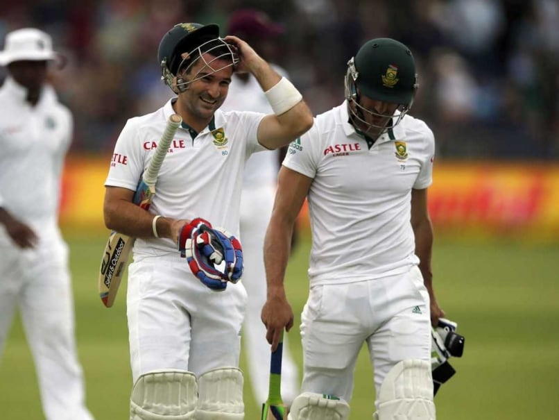 3rd Test: Dean Elgar Guides South Africa to Victory vs West Indies