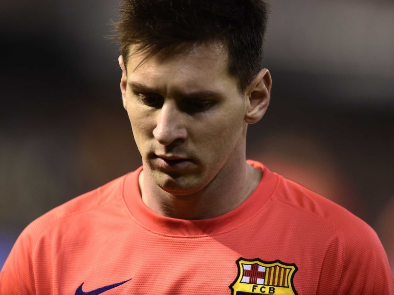 Lionel Messi Not Happy With Barcelona Coach Luis Enrique