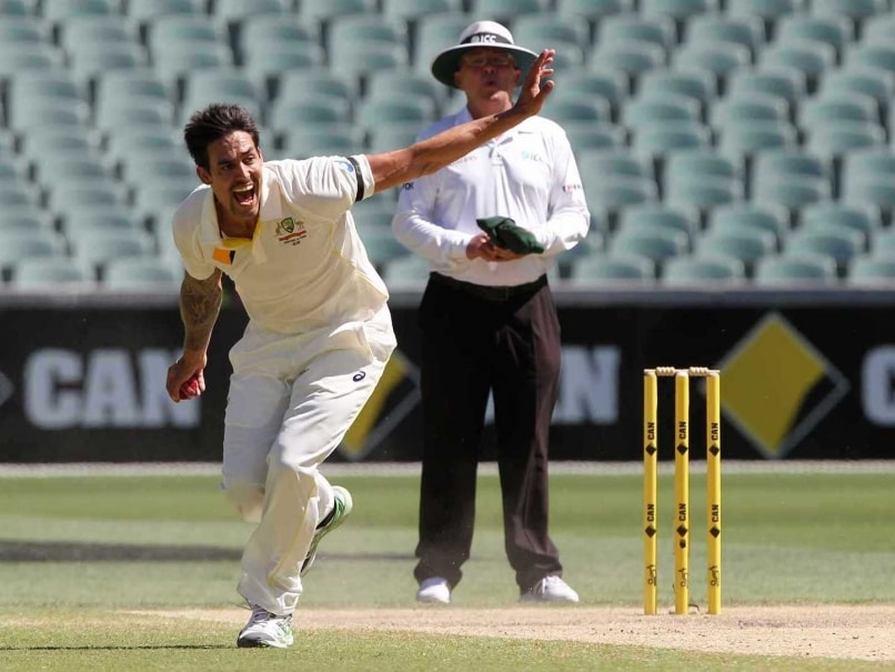 Mitchell Johnson Unhappy with 'Batting Friendly' Wickets