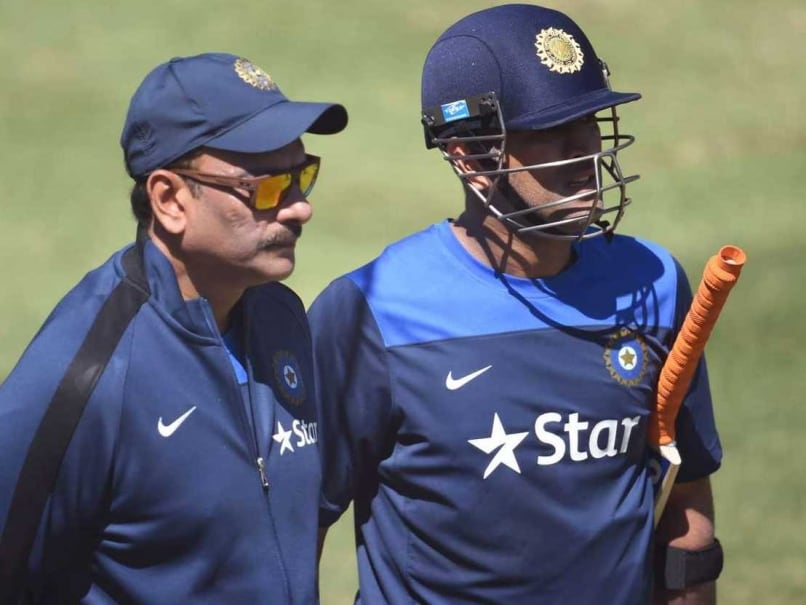 Ravi Shastri Admits Applying For India