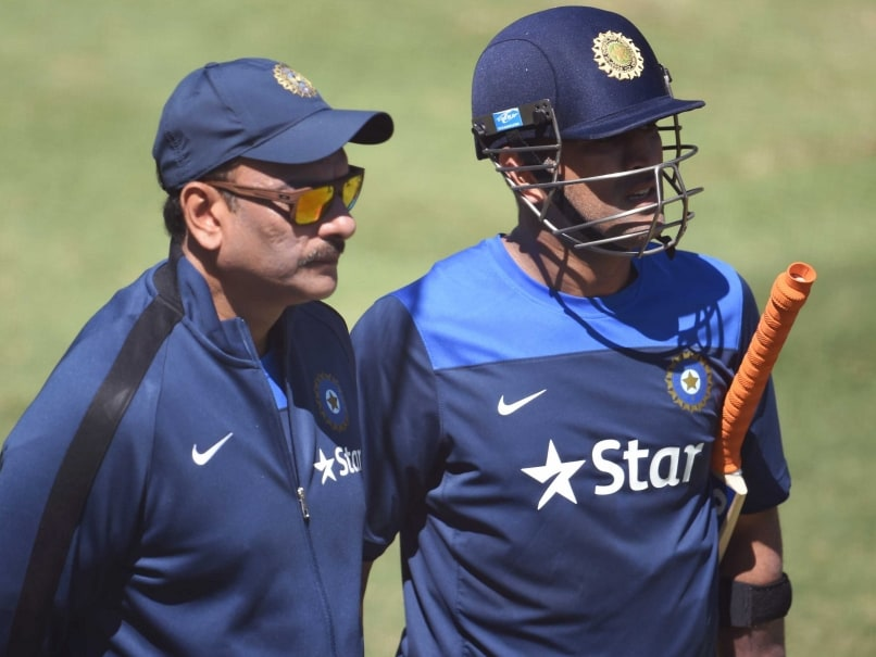 MS Dhoni was Not Doing Justice to Himself and Team: Ravi Shastri