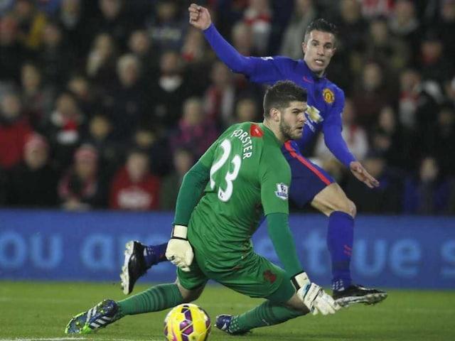 Robin van Persie Rescued Manchester United, Admits Louis van Gaal