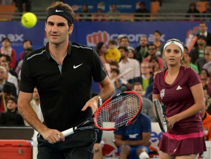 IPTL: Roger Federer Fashions Indian Aces Win over Singapore Slammers