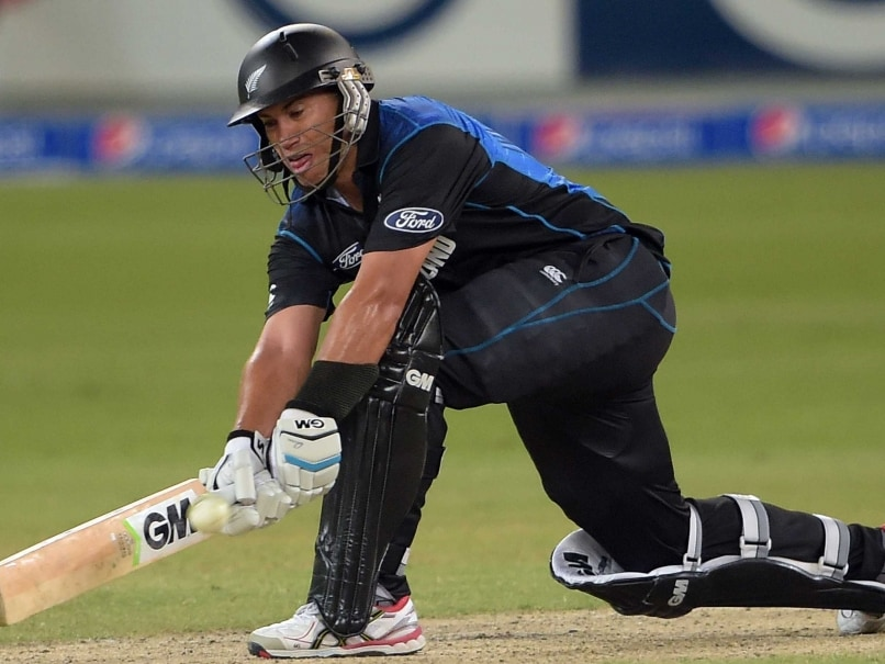 Ross Taylor Confident of not Fizzling out Before World Cup