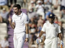 England vs India Third Test Day 3 Highlights: MS Dhoni Fifty Holds India Together After Anderson, Broad Strike