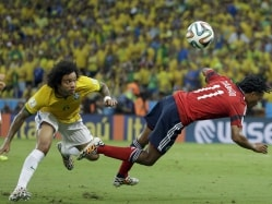 World Cup 2014: Marcelo Stays in Brazil Camp Despite Grandfather's Death