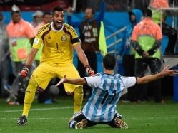 FIFA World Cup 2014: Penalties are All About Luck, Says Argentina Hero Sergio Romero