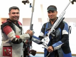Asian Games: India Miss Out on Bronze in Men's 50m Rifle 3 Positions
