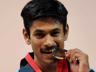 Commonwealth Games 2014: Indian Weightlifter Omkar Otari Wins Bronze