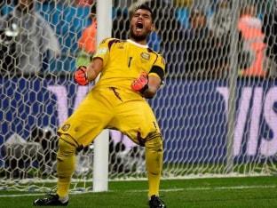 Sergio Romero Completes Move to Manchester United
