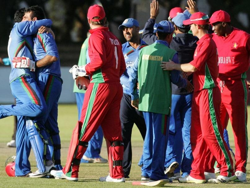 Javed Ahmadi Stars in Afghanistan's Win Over Zimbabwe