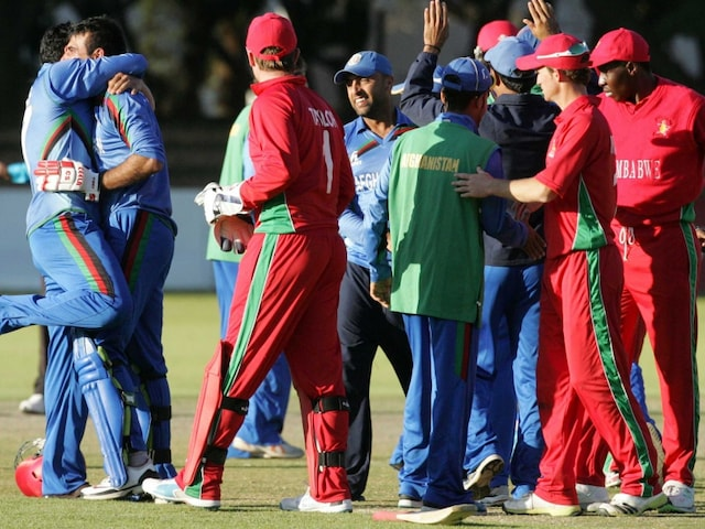 Javed Ahmadi Stars in Afghanistans Win Over Zimbabwe