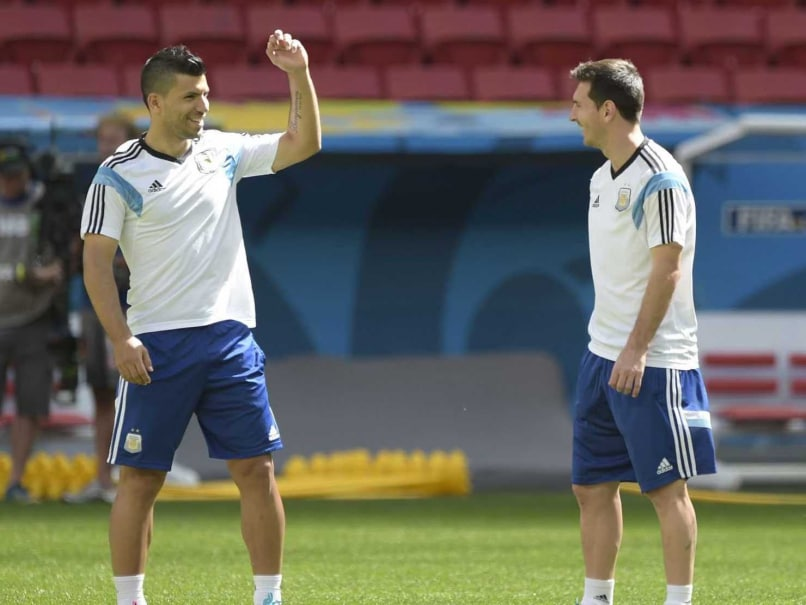 World Cup 2014: Sergio Aguero Back in Argentina Training