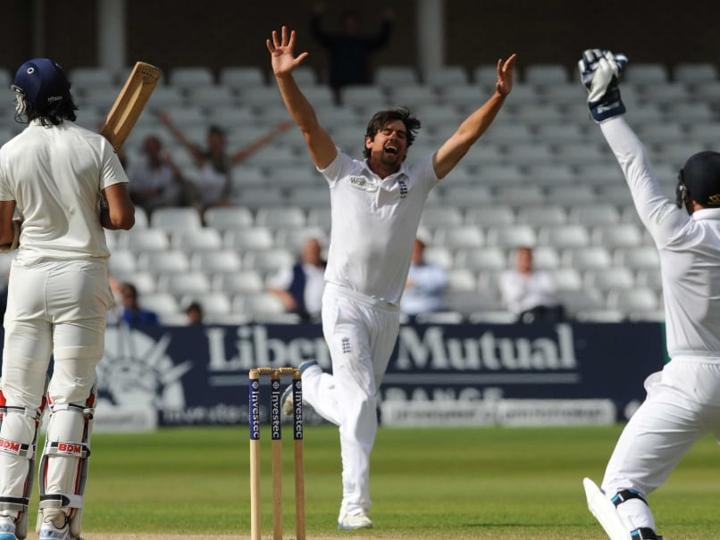 Alastair Cook-Wicket
