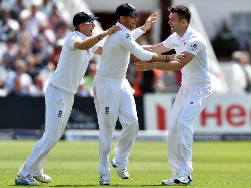 Anderson - wicket 2